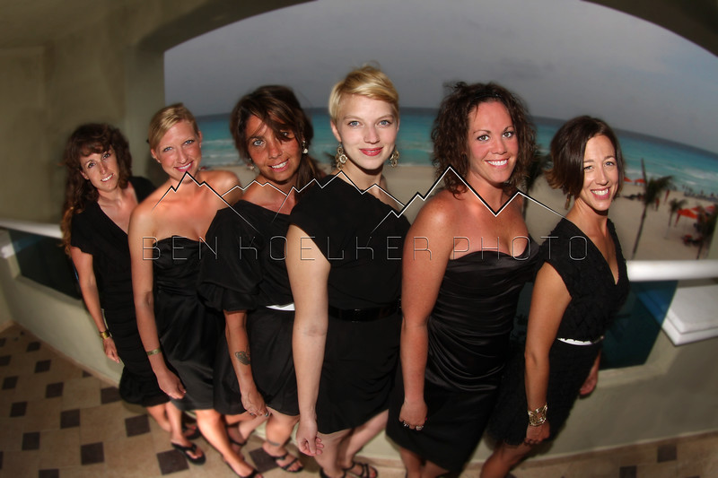 Otremba wedding bridesmaids