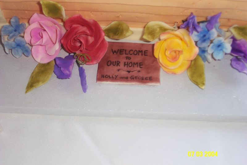 Welcome to our home sign
