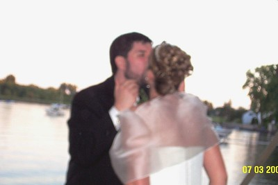 george and holly kiss