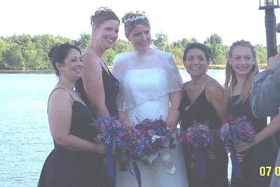 holly and bridesmaids 2