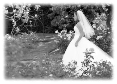 Jenny in the garden
