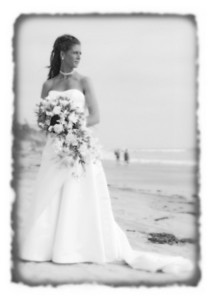 Jenn on the beach