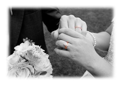 Jen and Steve's rings