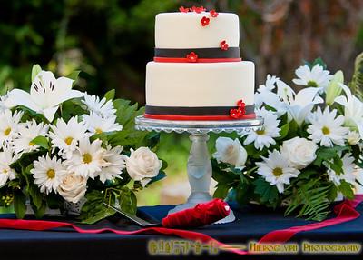 Wedding cake by Reianne
