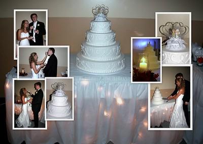 cake rings & flowers