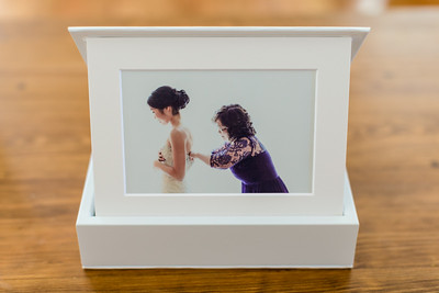 Matted Print Image Box
