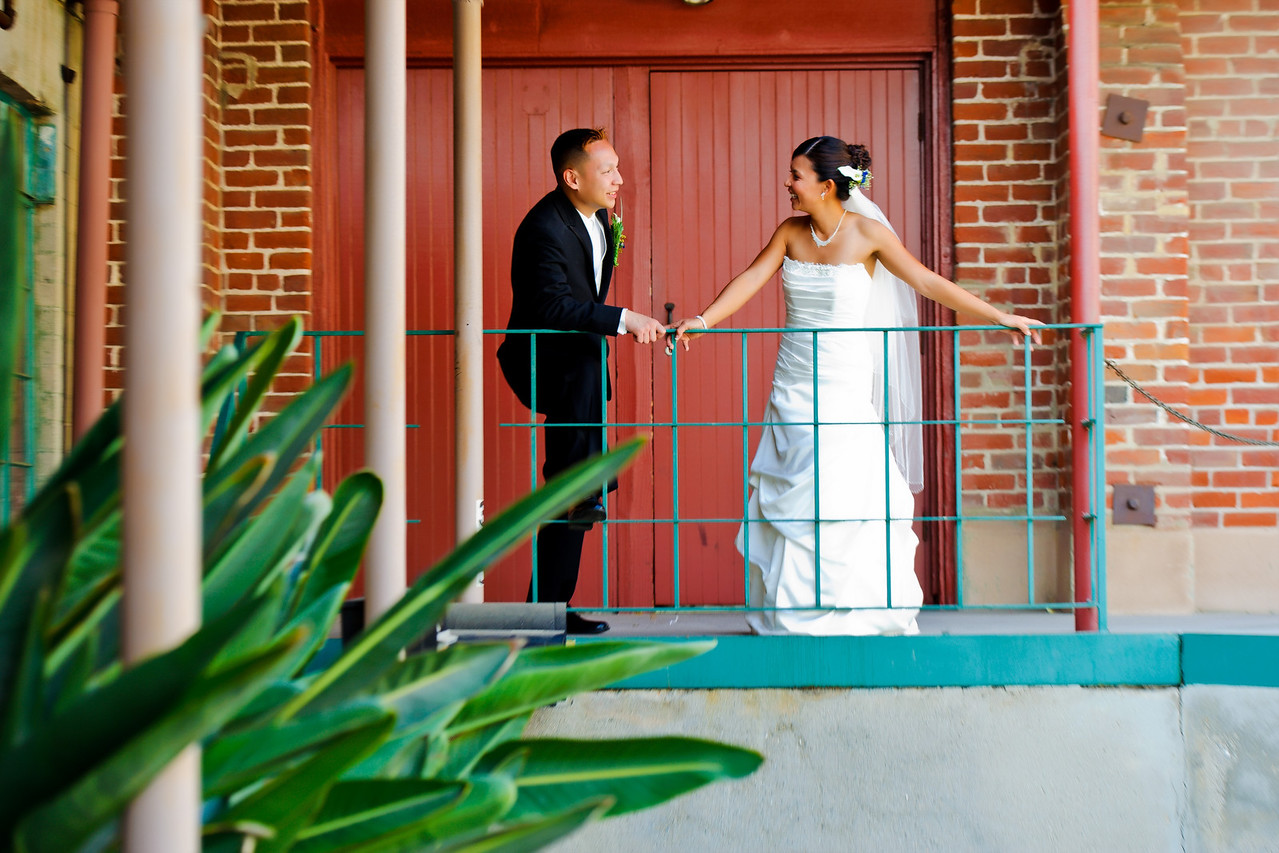 Mitten Building Wedding in Redlands CA