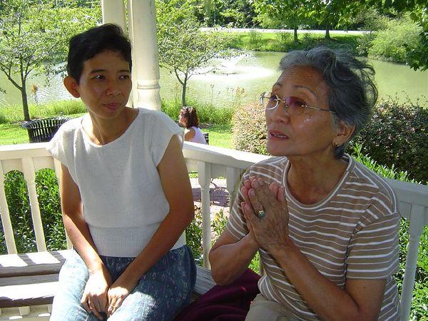 Ibu (Lavina's Mom), aka Nina and Ayang (Lavina's Grandmother)