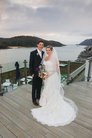 Hollie and Jamie's wedding photography Salcombe Harbour Hotel and Spa