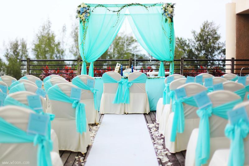 garden wedding deco