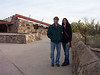 Laura and Seth visiting Taliesin West in Scottsdale, Arizona December 2007