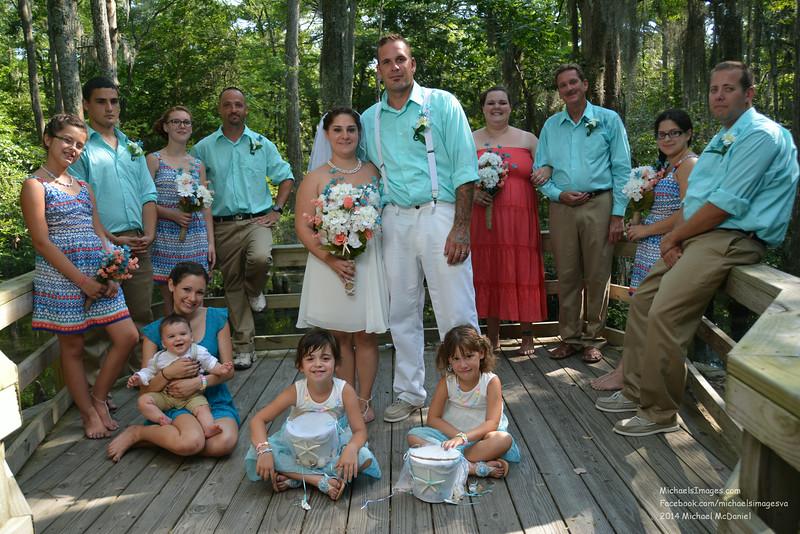 Ian and Marissa Wedding