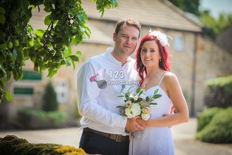 Tina and Tom's wedding photography Angel Inn Hetton