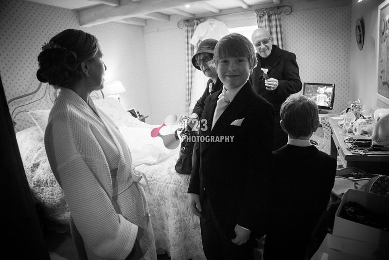 wedding photography at The Angel Inn, Hetton