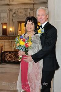 Wedding at San Francisco City Hall April 2017