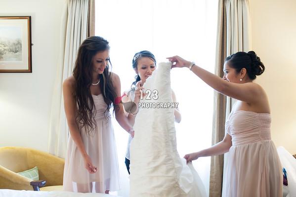 wedding photography at Hollins Hall, Baildon, Shipley