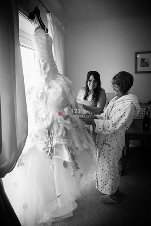 wedding photography St. Mary Roman Catholic Church, Torquay