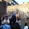 The beginning of the Jack the Ripper walk through Whitechapel