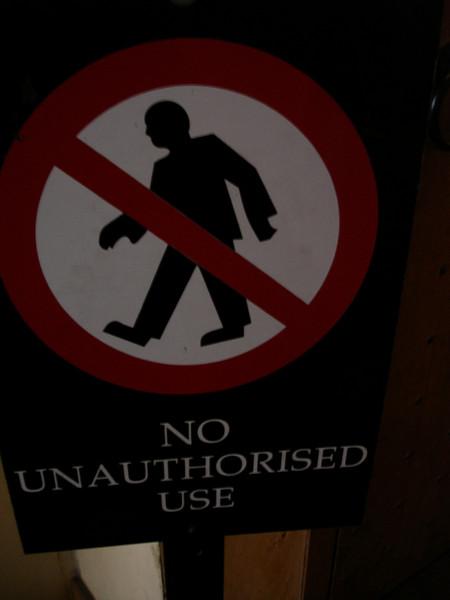 No suits