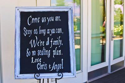 Wedding of Chris & Angel