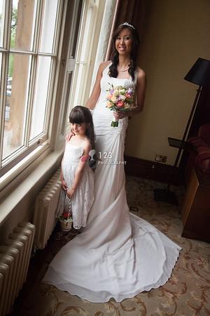 wedding photography Oulton Hall, Leeds