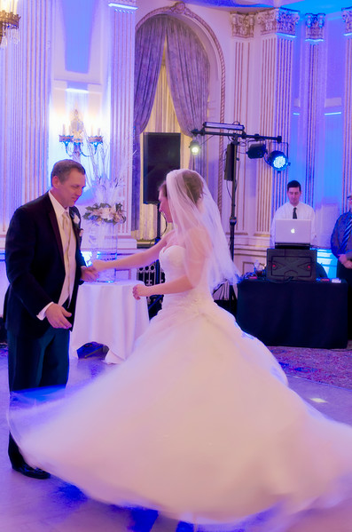 Father / daughter dance at the Astor Hotel Milwaukee.