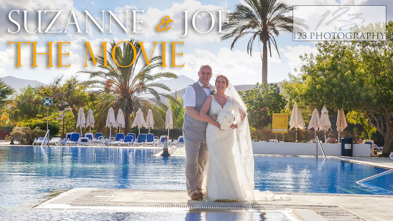 Suzanne and Joe's wedding photography Costa Calero Hote Lanzarote