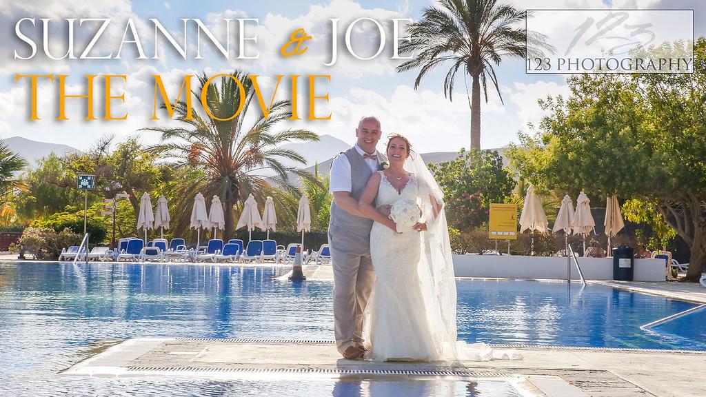 Suzanne and Joe's wedding photography Costa Calero Hote Lanzarote