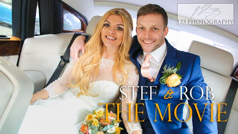 Stef and Rob's wedding photography Leeds Minster and Aspire