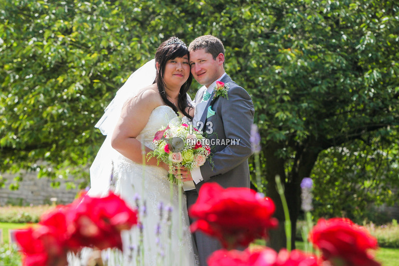 Sam and Paul's wedding photography Monk Fryston Hall