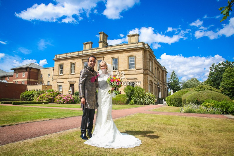 Hannah and Mohsin's wedding photography Oulton Hall