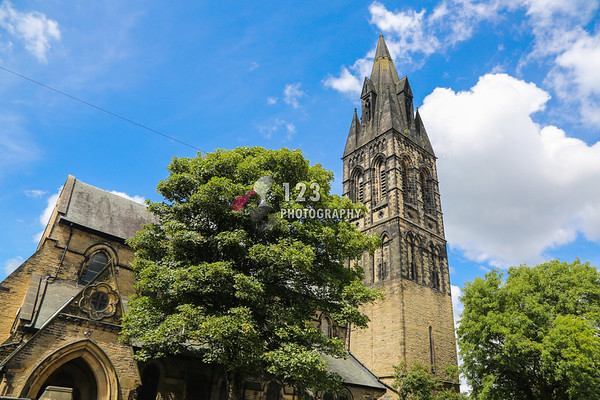 wedding photography St. John's Church, Great Horton, Bradford