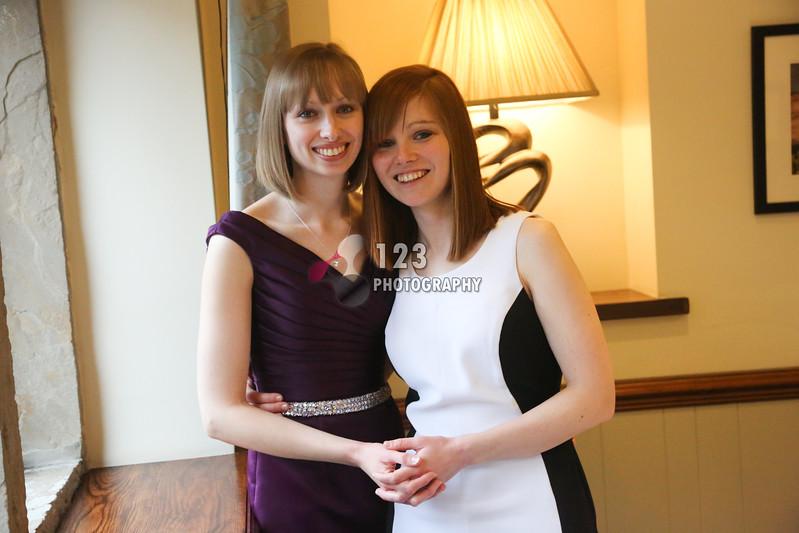 Helen and Becky's wedding photography The Woodman Inn Huddersfield