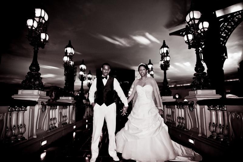 Wedding in Paris Las Vegas