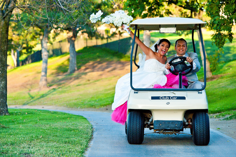 la wedding; golf course weddings
