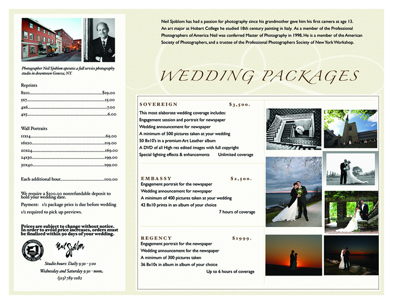Neil Sjoblom Wedding Brochure 4:29:08