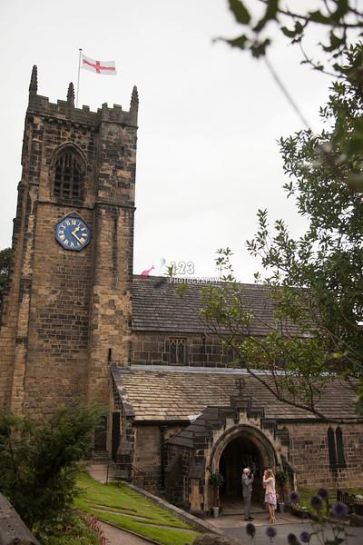 wedding photography St. Wilfrid's Church, Calverley