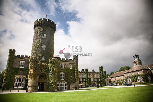 wedding photography at Swinton Park, Masham, Ripon, North Yorkshire
