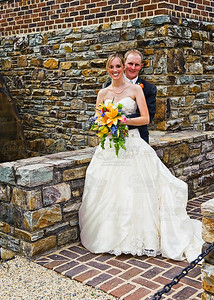 Jenna & Brian Aldie United Methodist Church, Aldie Mill, Evergreen Country Club