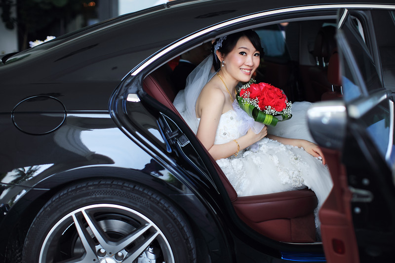 bride fetching
