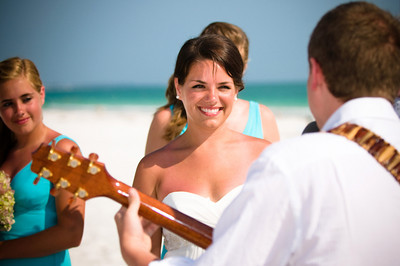 Katie & Anthony's beautiful wedding at the Sandbar Restaurant on Anna Maria Island www.groupersandwich.com  Photos by Dara Caudill www.IslandPhotography.org  Music by Chuck Caudill  www.ChuckCaudill.com  Flowers by Sivia's Flower Corner www.annamariaflorist.com