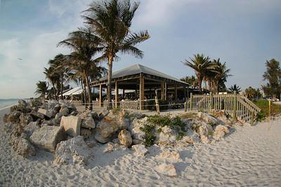 The South Pavillion at Beachhouse Restaurant in Bradenton Beach on Anna Maria Island, Florida