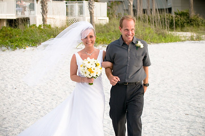 Jenni & Andrew's wedding at the Cabana Club on Clearwater Beach.  Photos by Dara Caudill www.IslandPhotography.org  Music by Chuck Caudill Entertainment www.ChuckCaudill.com  Officiant was Reverend Charlie Shook  www.ReverendCharlie.com