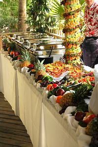 Incredible buffet at the Beachhouse Restaurant in Bradenton Beach, FL