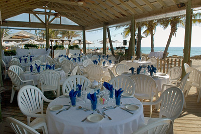 North Pavillion area of the Beachhouse Restaurant on Anna Maria Island.