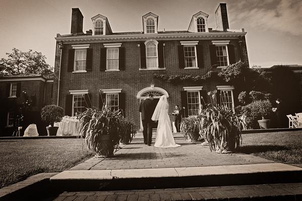 Erin & Ryan at Evermay Gardens, Georgetown, DC