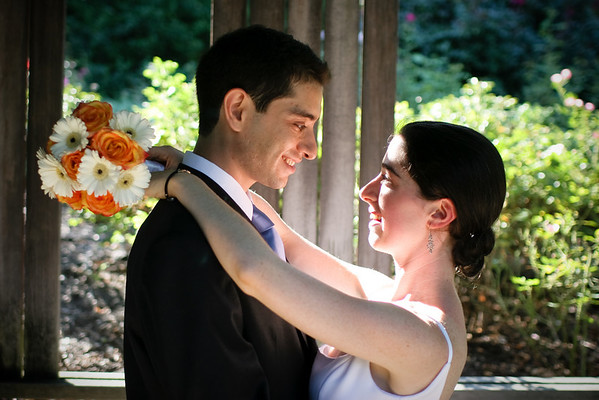 Leah and Nadav at Brookside Gardens, MD