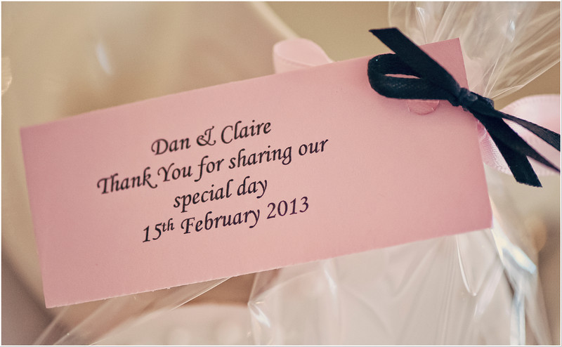 031 - Claire & Daniel Wedding 150213  - 150213