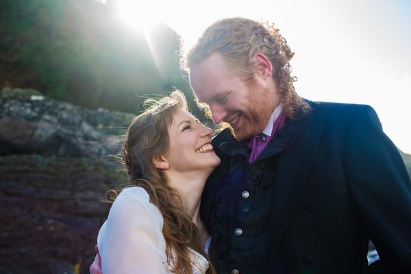 Anne and Derek | Polhawn Fort