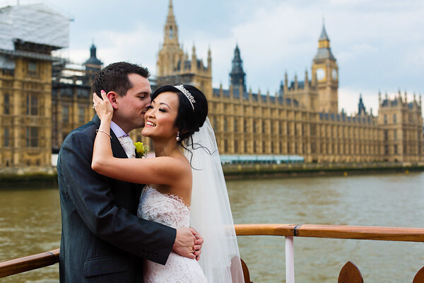 Evelyn and Richard | London Pleasure Boat Wedding